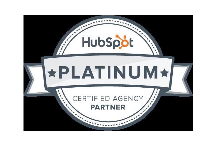Hubspot Platinum Partner!